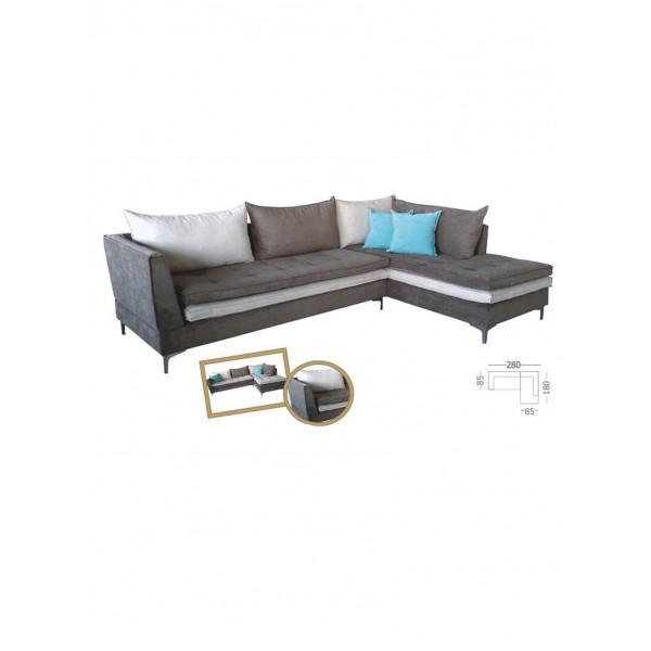 Γωνιακός καναπές Cleio