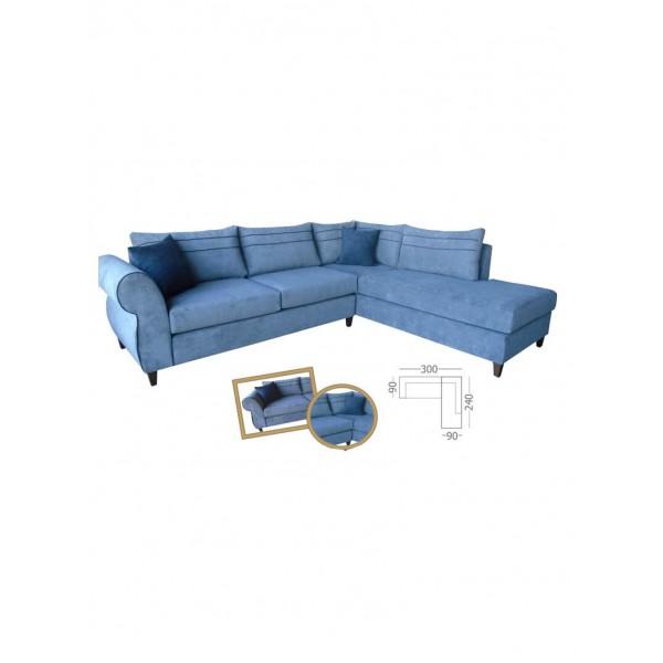 Γωνιακός καναπές Fenia
