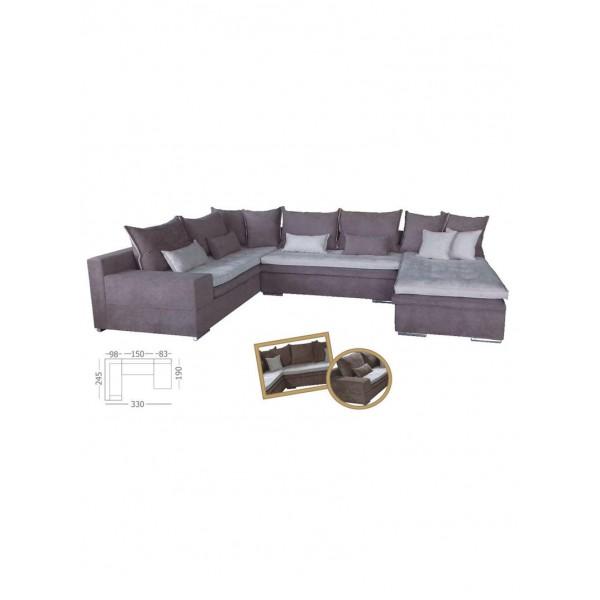 Γωνιακός καναπές Lydia
