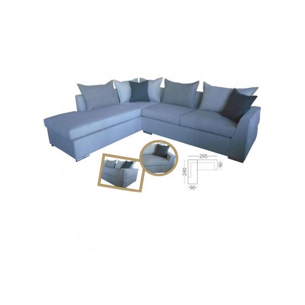 Γωνιακός καναπές Rena