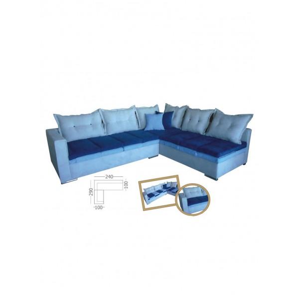 Γωνιακός καναπές Status