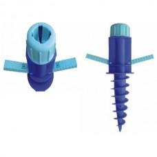 Βάση βιδωτή βαρέου τύπου για ιστό ομπρέλας έως και Φ32 mm